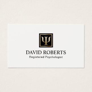 Nomeação do profissional do conselheiro do cartão de visitas