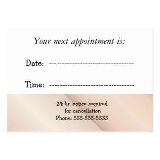 Nomeação médica cartão de visita grande
