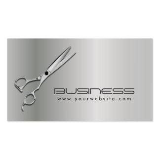 Nomeação metálica moderna do cabeleireiro