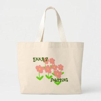 Nomeie o saco de compras (personalizar-capaz) das sacola tote jumbo