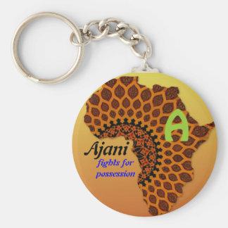 Nomes africanos chaveiro