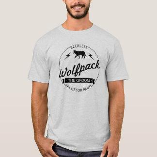 Nomes imprudentes dos padrinhos de casamento do tshirt