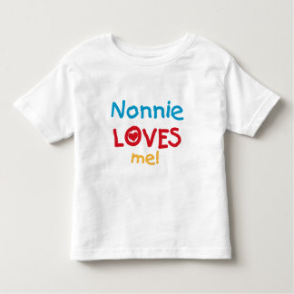 Nonnie ama-me camiseta e presentes