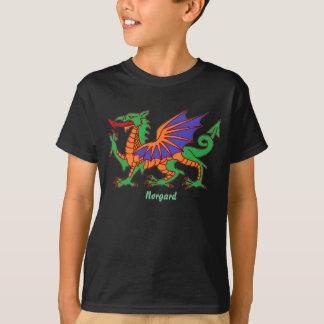 """""""Norgard"""" o dragão Tshirt"""
