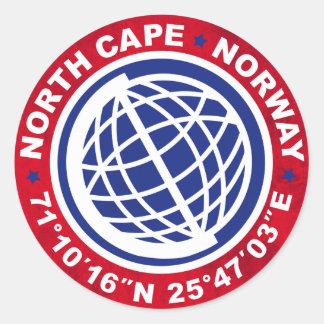 NORTH CAPE SPECIAL NORWAY ADESIVO