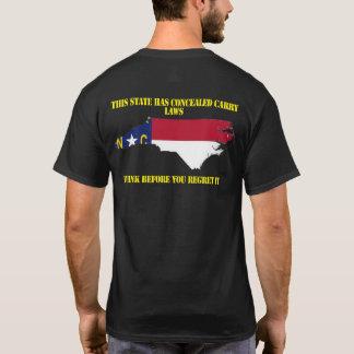 North Carolina escondeu a camisa do carregar