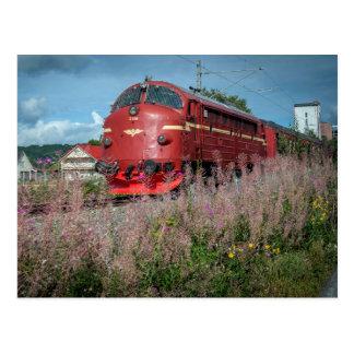 Noruega. År de Størenbanen 150. Jubileumstog. Cartão Postal