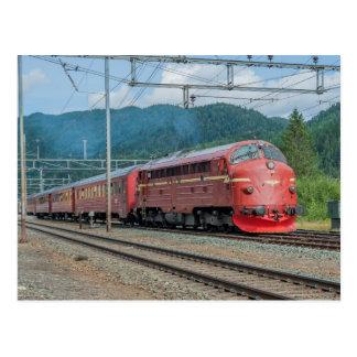 Noruega. Jubileumstog 16.08.2014 no St. de Støren Cartão Postal