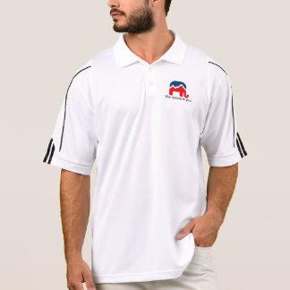 Nós acreditamos em você. Camisa do golfe