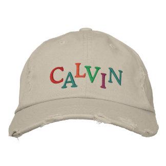 Nós amamos o boné da corrida de cavalos de CALVIN