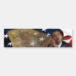 Nós as pessoas… de Barack Obama & a constituição Adesivo