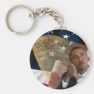 Nós as pessoas… de Barack Obama & a constituição Chaveiro