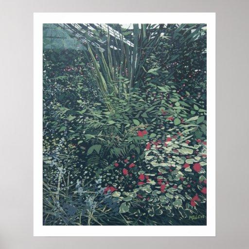 Nos jardins botânicos posters