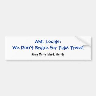 Nós não travamos para palmeiras adesivo para carro