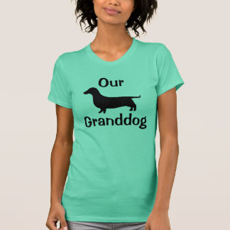 Nossa camisa do Dachshund de Granddog