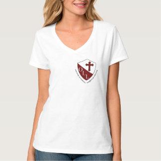 Nossa senhora de senhoras Hanes de Lourdes V - Tshirts