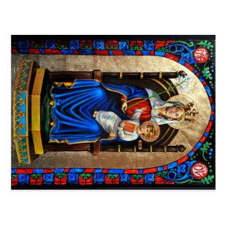 Nossa senhora do cartão de Walsingham Cartões Postais