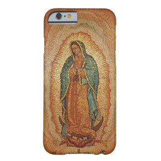 Nossa senhora do caso do iPhone 6 de Guadalupe Capa Barely There Para iPhone 6