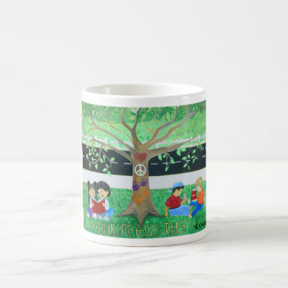 Nossas canecas da árvore da paz