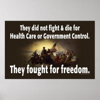 Nossas forças armadas lutadas pela liberdade…. poster