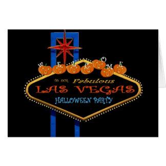 Nosso cartão fabuloso do partido de Las Vegas o