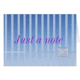 nota cartão comemorativo