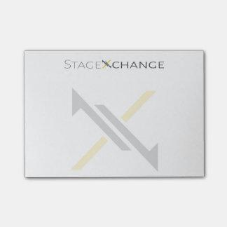 Notas de post-it de StageXchange Sticky Note