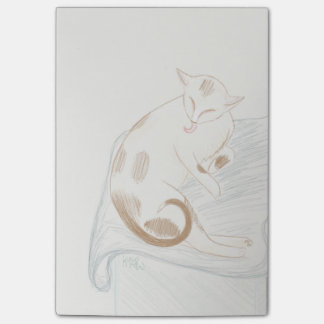 Notas do gato do gatinho da preparação bloquinhos de notas