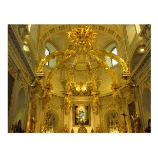 Notre Dame Cidade de Quebec, Quebeque, Canadá Cartão Postal