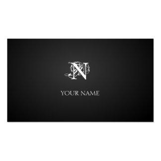 Nouveau graphite cartão de visita