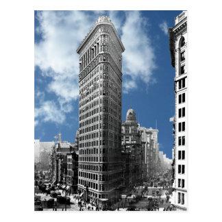 Nova Iorque da construção de Flatiron Cartão Postal