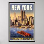 Nova Iorque do vintage, EUA - Posteres