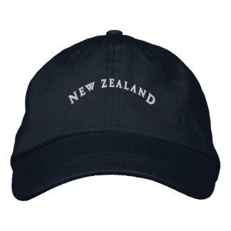 Nova Zelândia bordou o boné