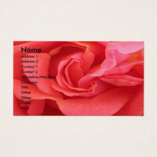 NOVINO - Rosa vermelha Cartão De Visitas