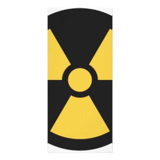 NuclearSymbol 10.16 X 22.86cm Panfleto
