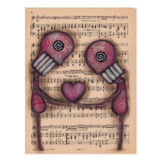 Nuestro Amor Eterno Cartão Postal