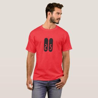 Números retros camisetas