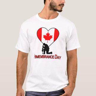 Nunca esqueça t-shirt do dia da relembrança