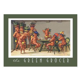 Nutricionista orgânico da fazenda da loja do cartão de visita grande