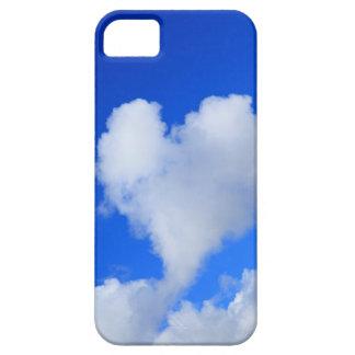 Nuvem dada forma coração capa iPhone 5 Case-Mate