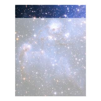Nuvem de Magellanic pequena Papel Timbrado