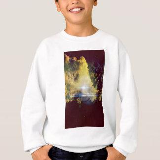 Nuvens bonitas no planeta t-shirts