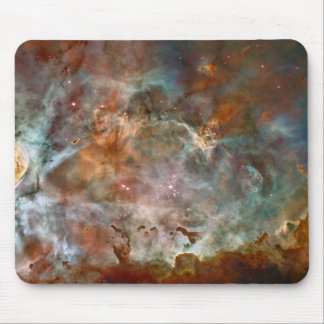 Nuvens da obscuridade da nebulosa de Carina