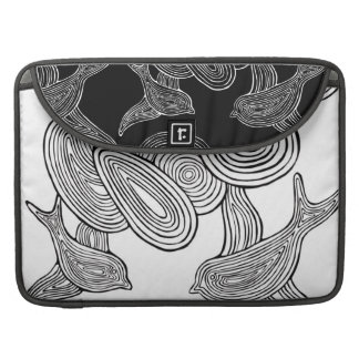 Nuvens do n dos pássaros bolsas para MacBook