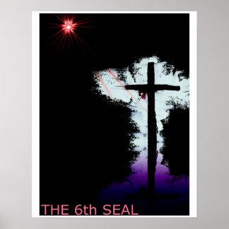 O 6o selo, cristandade poster