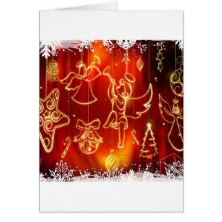 O abstrato refrigera uma janela festiva cartões