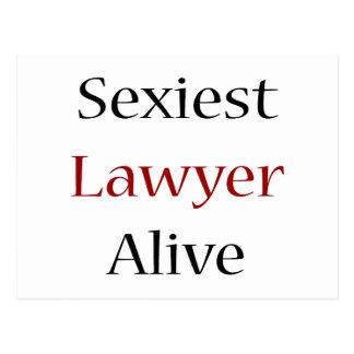 O advogado o mais sexy vivo cartão postal