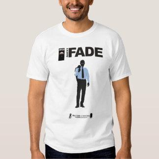 O agente desvanece-se t-shirts