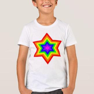 O algodão/T poli dos meninos brilhantes de Burst™ Camiseta