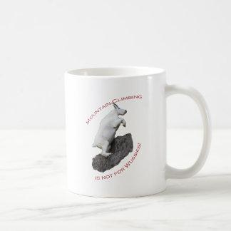 O alpinismo não é para Wussies Caneca De Café